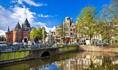 Amsterdam i Nordholland
