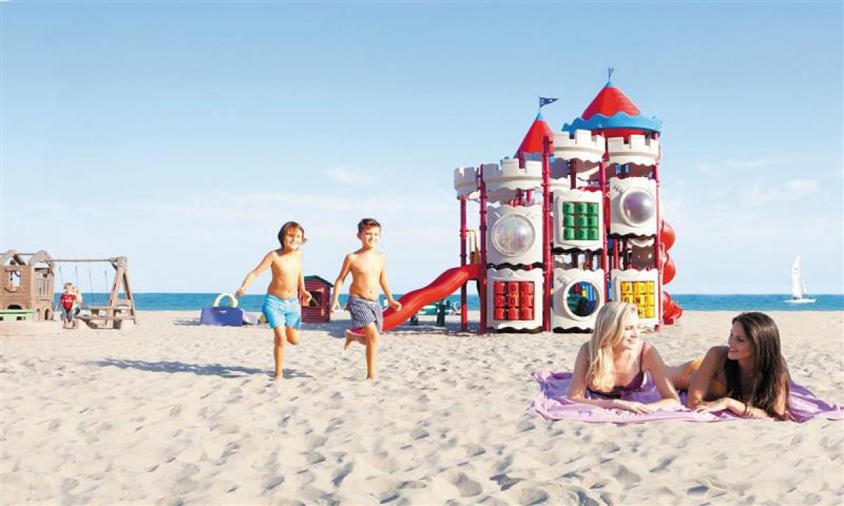 Union Lido - Sandstrand ved feriestedet