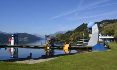 Naturskøn camping i Østrig