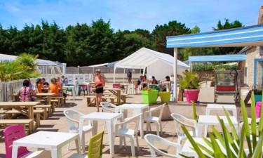 Restaurant Camping Belle Plage in der Bretagne