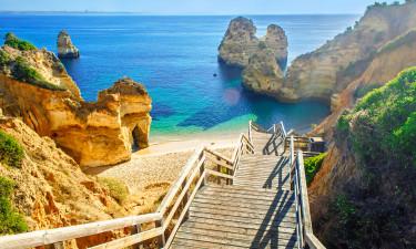 Algarvekysten i Portugal
