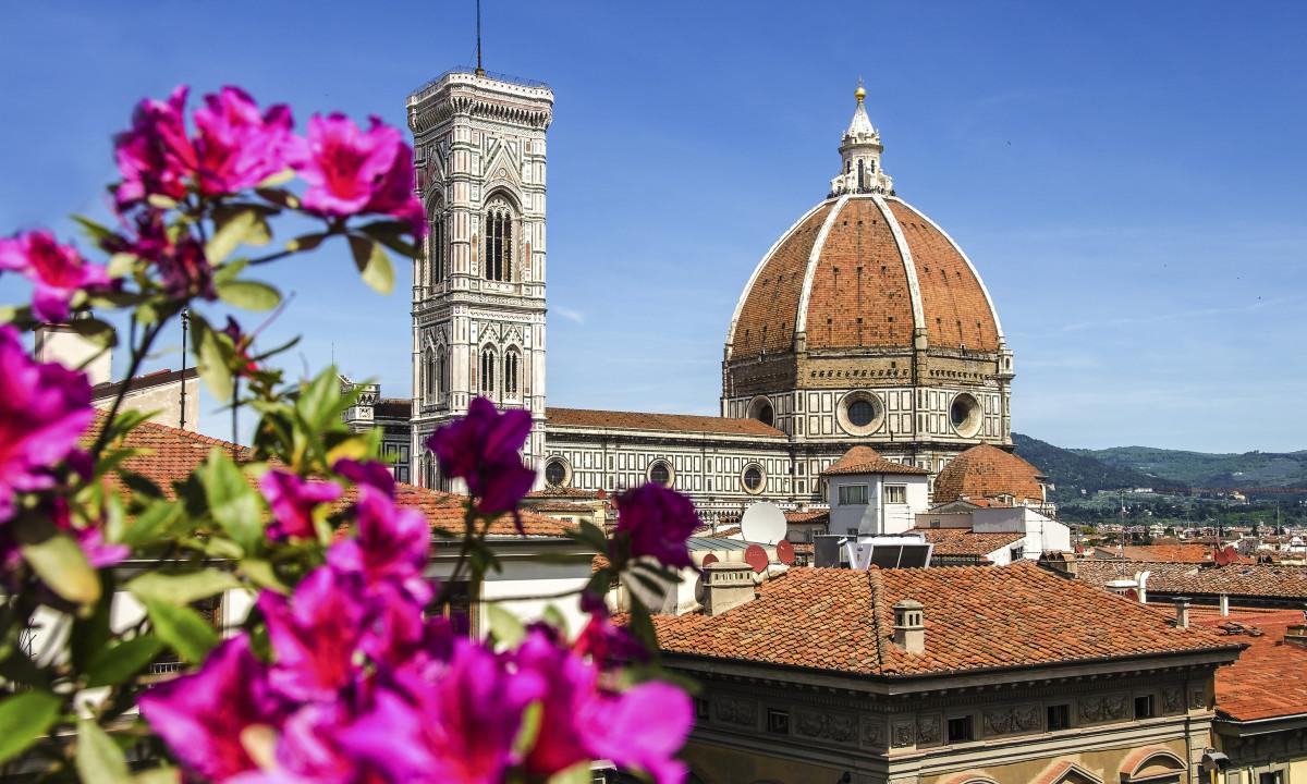Firenze - Domkirke i kulturbyen