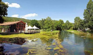 Franske lækkerier i idylliske omgivelser