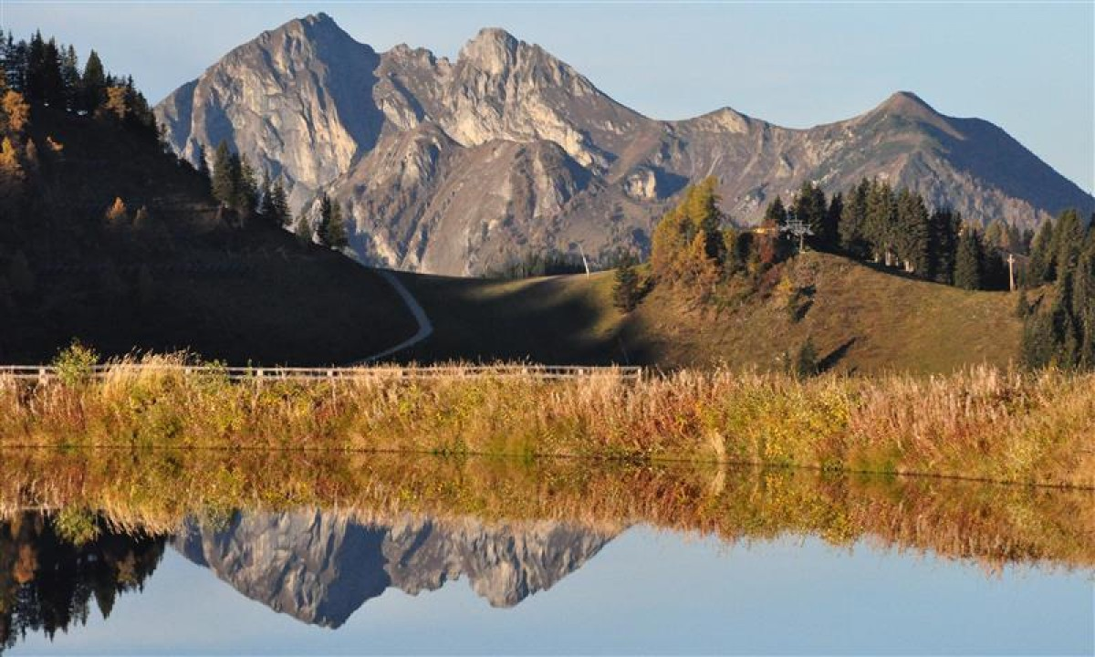 Bjerge og natur i Wagrain