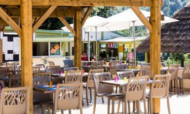 Restaurants Camping Green Park an der Côte d'Azur