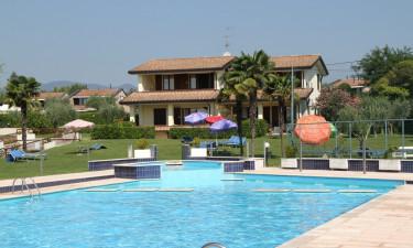 Pool og faciliteter på feriestedet