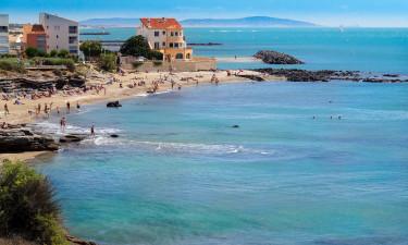 Strandferie og campingpladser i Frankrig