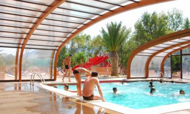 Bademöglichkeiten Camping La Chapelle in Languedoc
