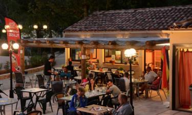 Restaurant Camping Lou Cantaire an der Côte d'Azur