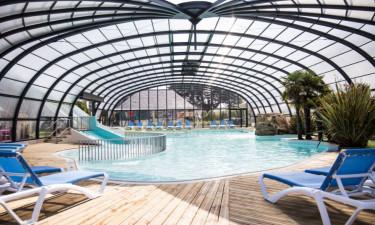 Pool Camping Emeraude in der Normandie