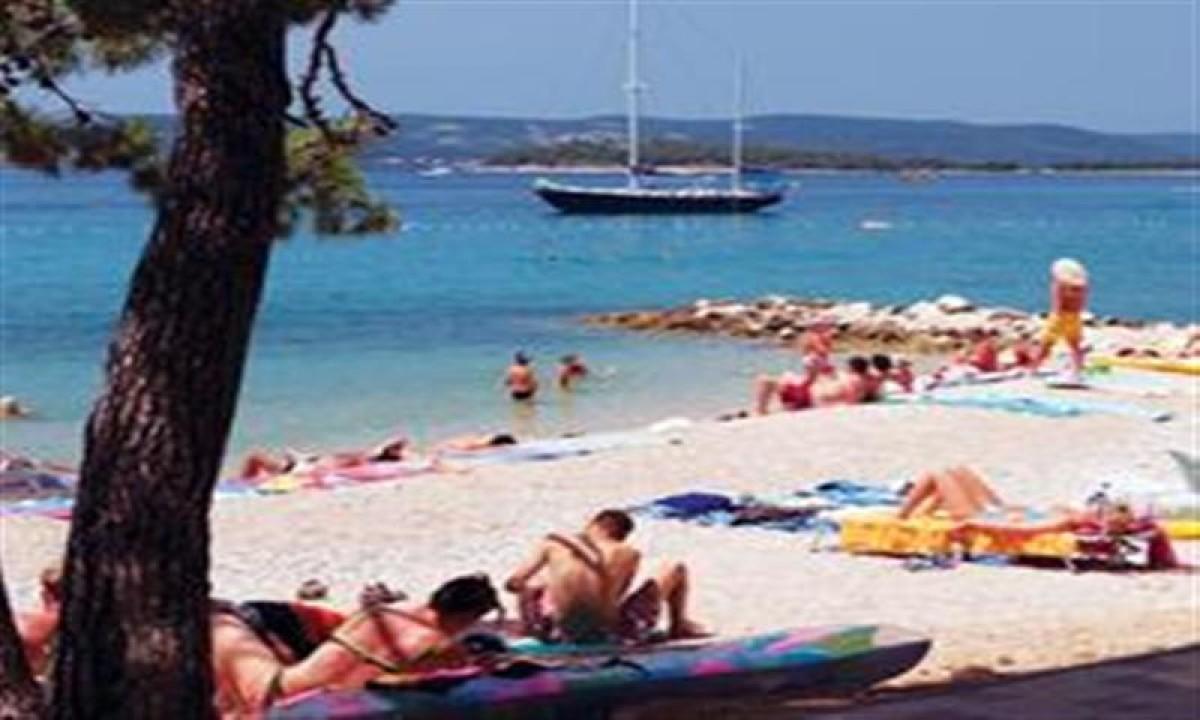 Stranden ved Camping Park Soline