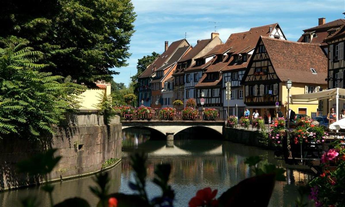 Byen Colmar i Alsace