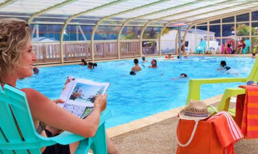 Pool Camping Belle Plage in der Bretagne