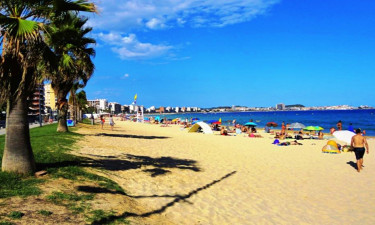 Strand Camping Pla de la Torre an der Costa Brava