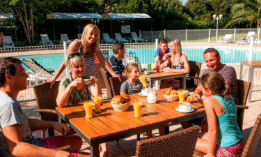 Restaurants Camping Acqua e Sole auf Korsika