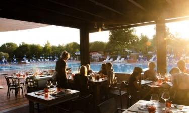 Restaurant Camping Villaggio Orizzonte in der Toskana