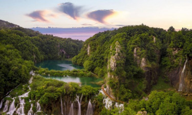Restaurant Camping Plitvice in Zentral-Kroatien