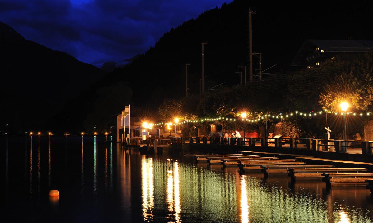Zell am See - Promenanden om aftenen