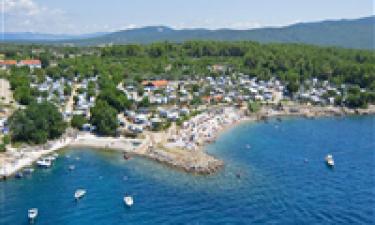 Kystlinje på øen Krk