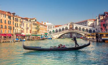 Rialto-broen - Populær bro i Venedig