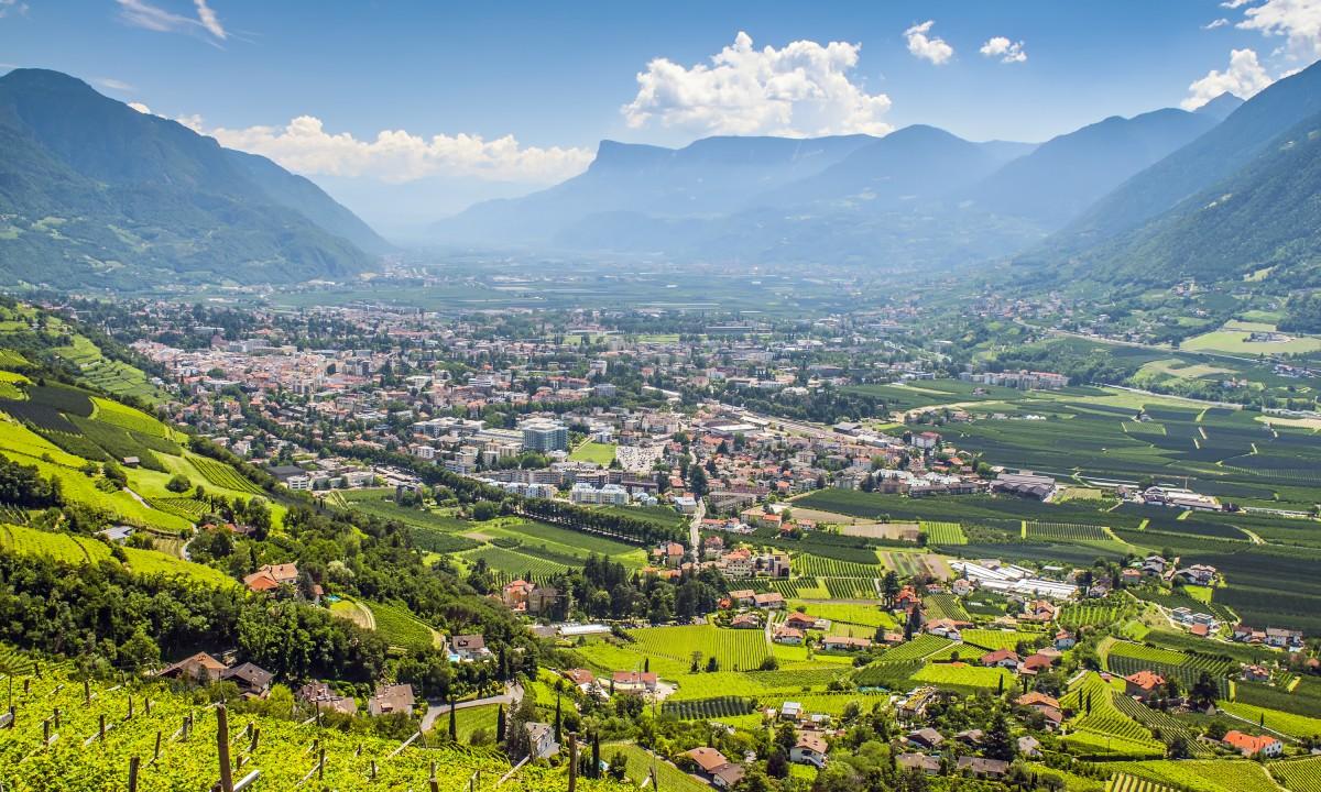 Landskabet i Tyrol i Oestrig