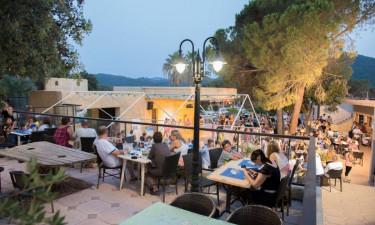 Få lækker middelhavsmad i restauranten