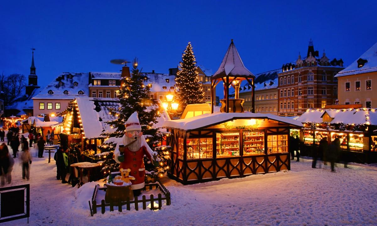 Julemarked i Nordtyskland - Julelys