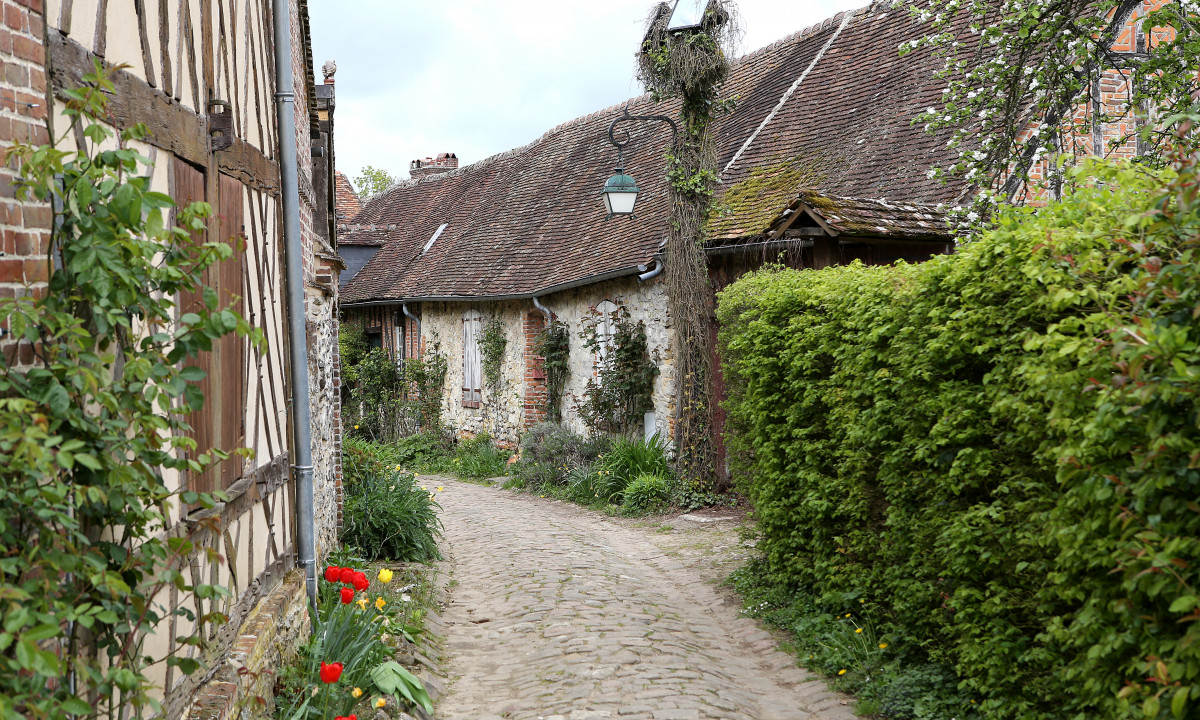 Byen Geberoy i Picardie, Frankrig