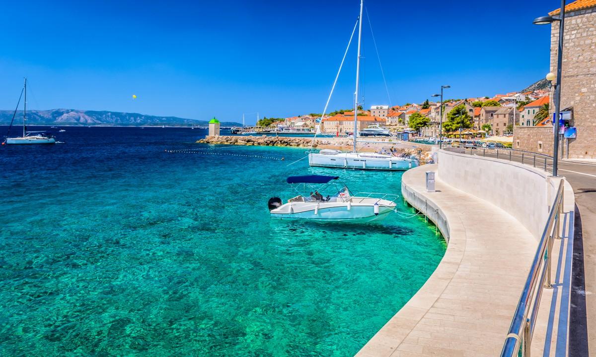 Havn ved Adriaterhavskysten