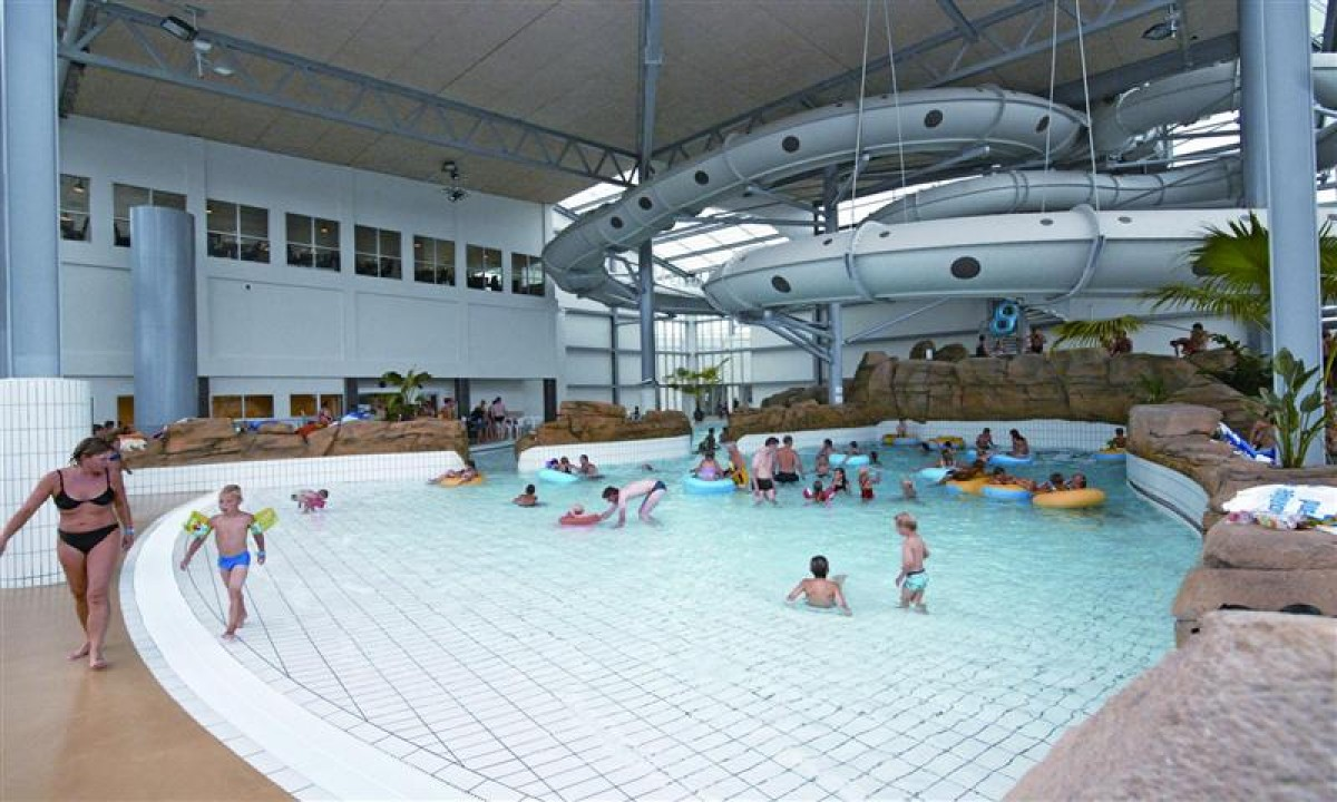 Seawest feriecenter i Vestjylland - Indendoers swimmingpool