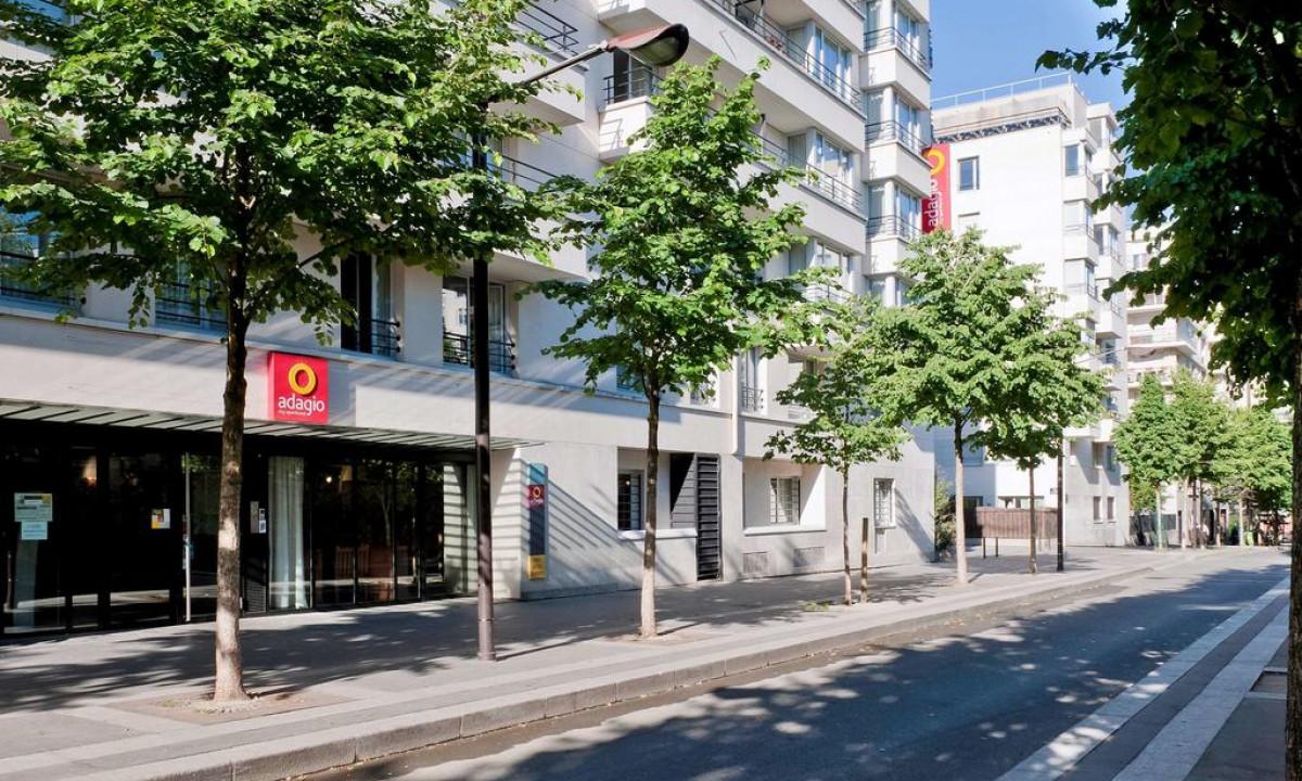 Lejlighedshotellet Buttes Chaumont