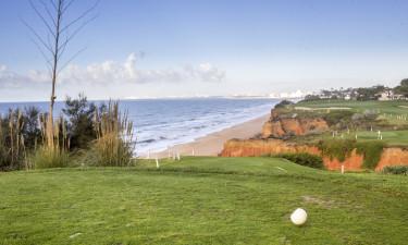 Golf paa Algarvekysten i Portugal