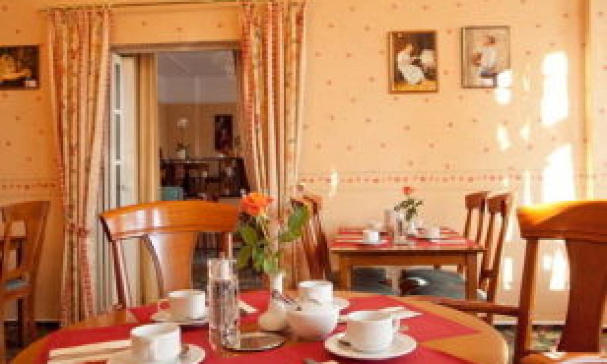 Den hyggelige morgenmadsrestaurant