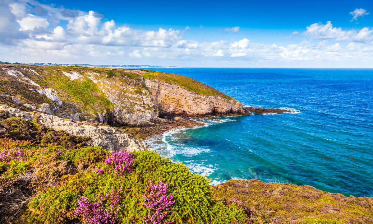 Middelhavet og kysten ved Bretagne, Frankrig