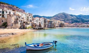Havnefront, Sicilien