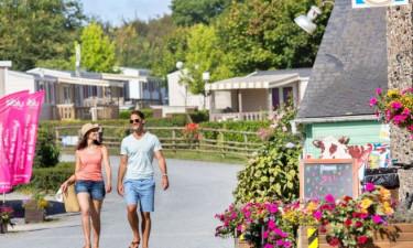 Einkauf Domaine de Litteau in der Normandie