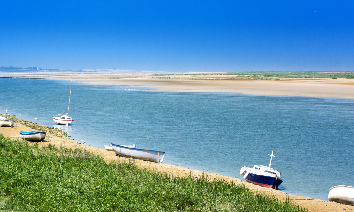 Strand ved Picardie i Frankrig
