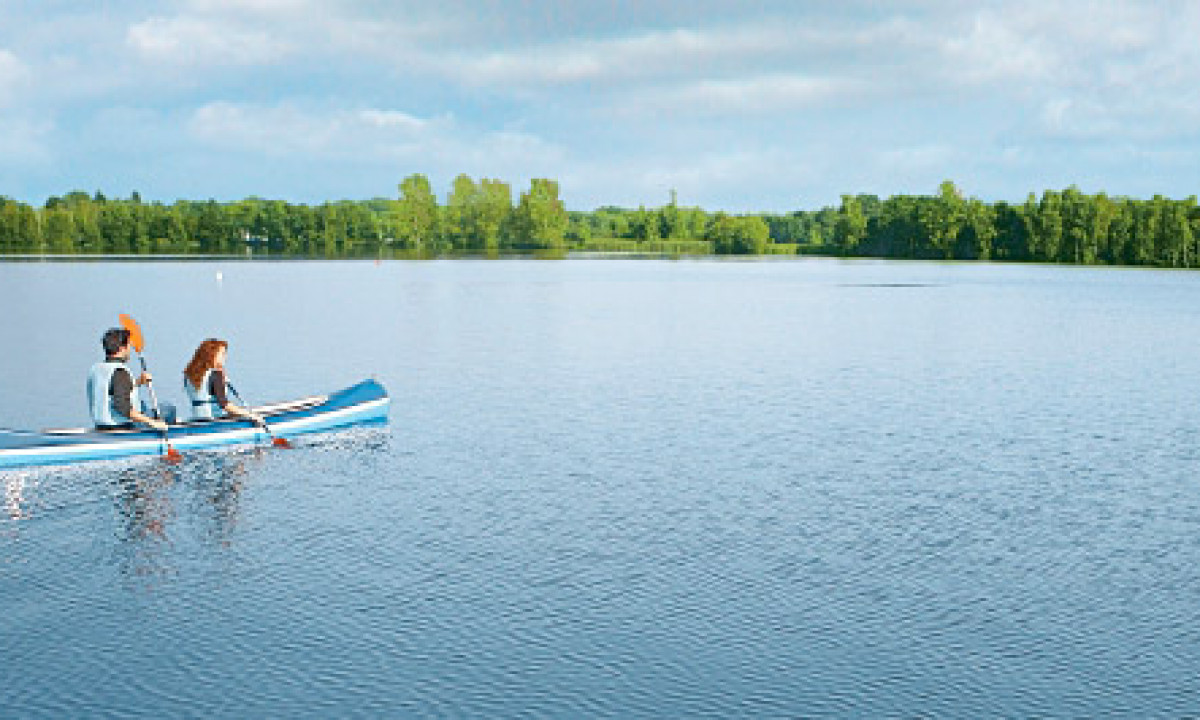 Kempense Meren - På sejltur i søen