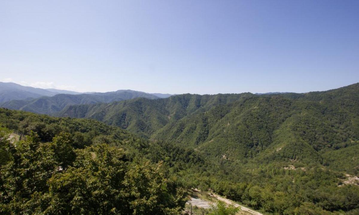 Smukke bjerge og stier ved I Cancelli