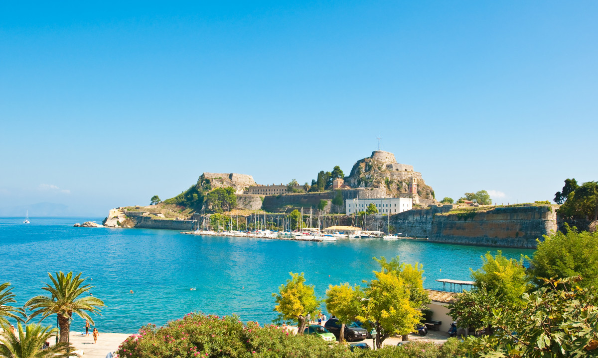 Faestning paa Korfu