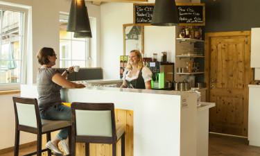 Spisesteder og indkøbsmuligheder på Katschberg