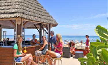 Restaurant og strandbar