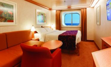 Kahytter ombord på Costa Fortuna