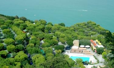 Camping Village Internazionale San Menaio in Apulien