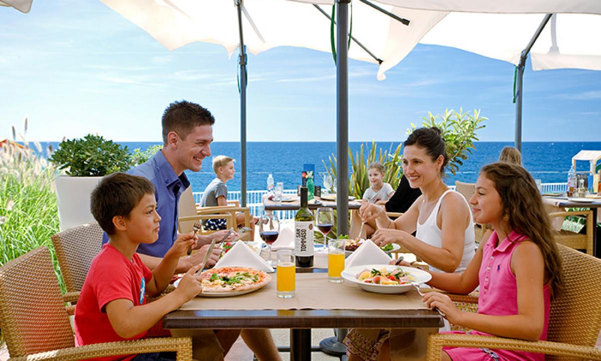 Et dejligt måltid på Restaurant Marina