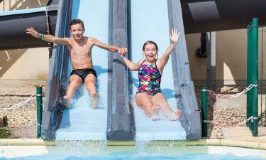 Fire forskellige pools for hele familien