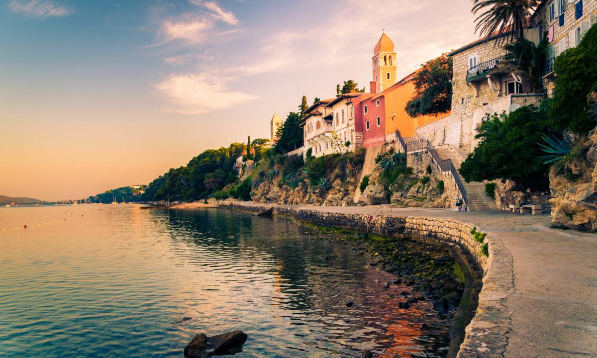 By ved Ooen Rab i Kroatien