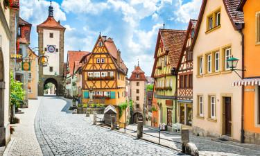 Hyggelig by i Sydtyskland