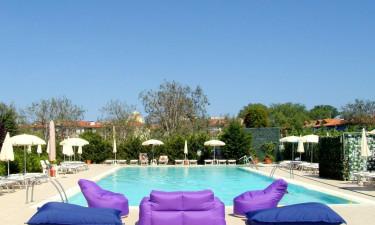 Cleo - Det udendørs poolområde