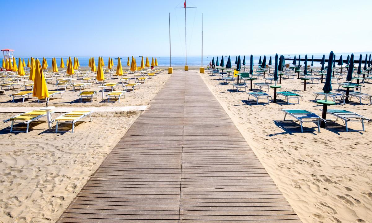 Adriaterhavskysten - Bibione strand